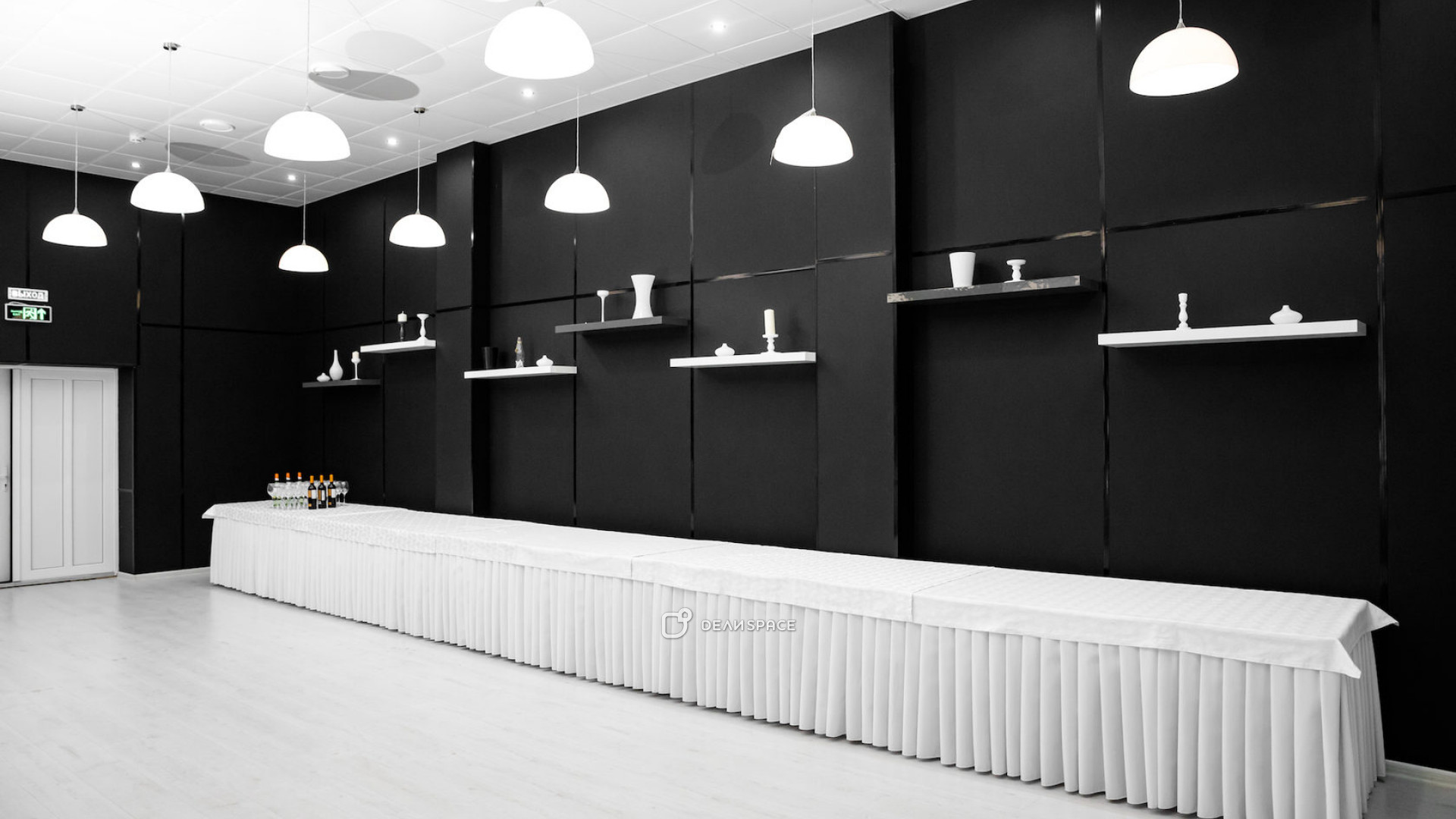 Черно- белый зал - фото №6