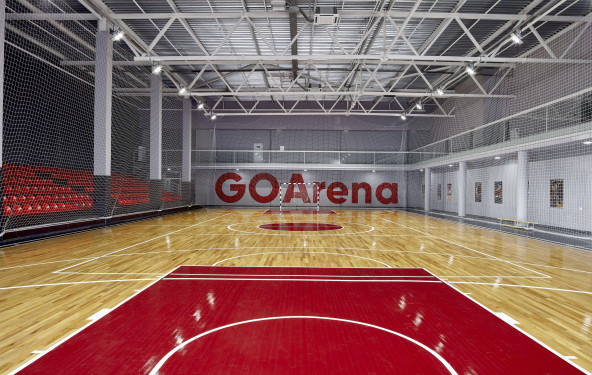 Профессиональная игровая арена с трибунами - фото №1