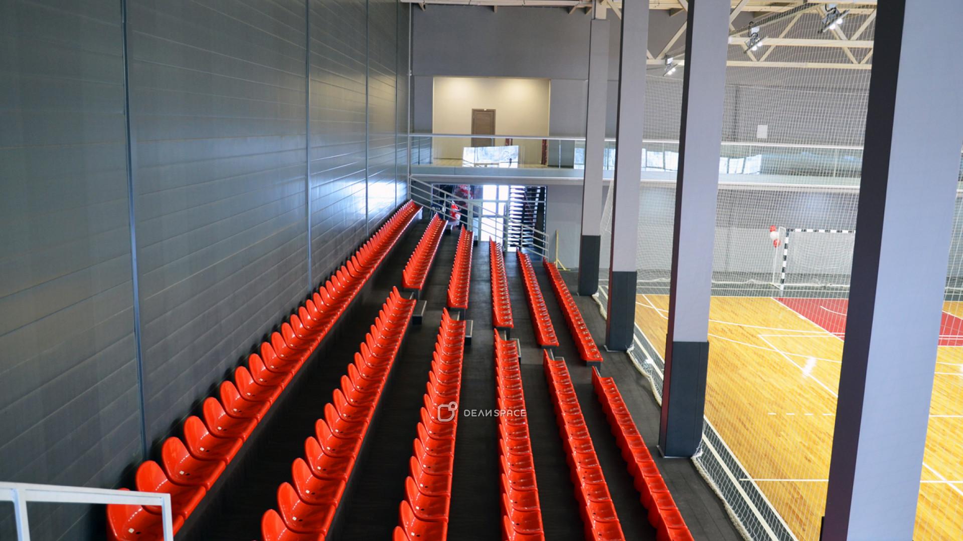 Профессиональная игровая арена с трибунами - фото №6