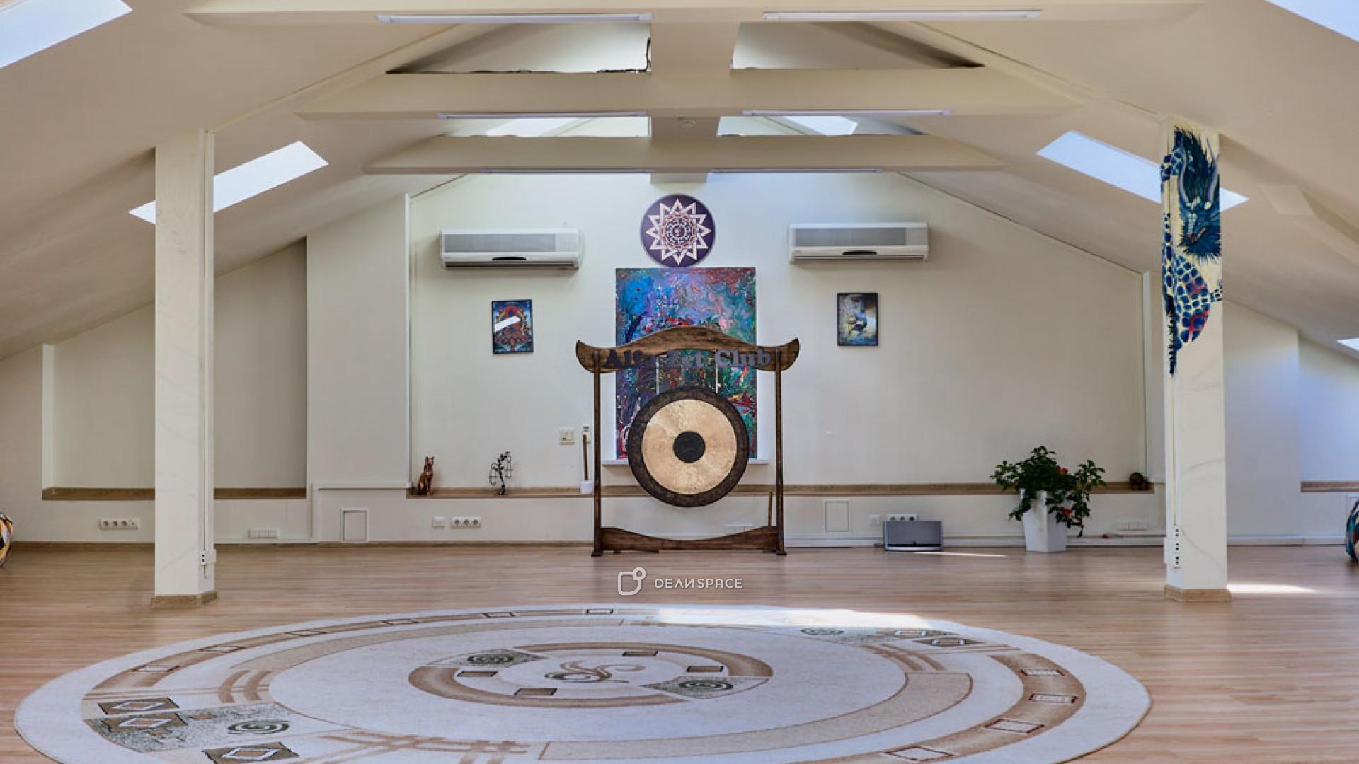 Мансарда для йоги и мероприятий
