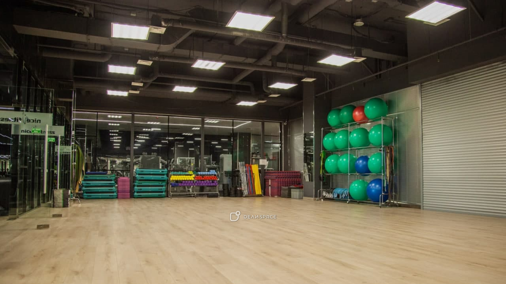 Спортивный зал для групповых программ