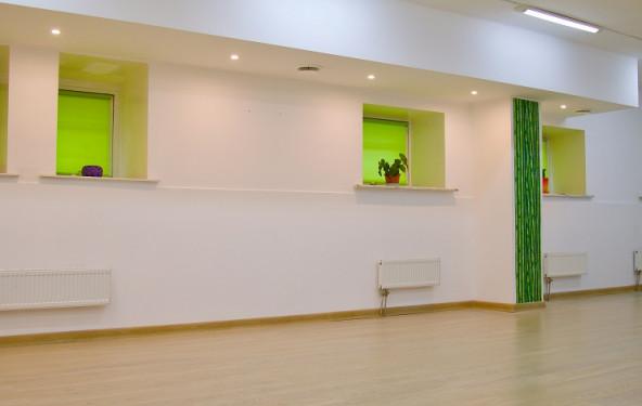 Зал для занятий спортом, боевыми искусствами, йогой, медитацией, подвижными практиками - фото №1